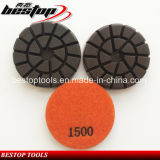 3 Inch Grit 1500# Floor Polishing Pad for Concrete