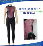 Neoprene Women Sexy Jacket Vest Nylon Fabric Surfing Suit