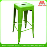 Culb Used High Stacking Metal Bar Stools
