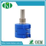 Wxd3590 10-Turn Wirewound Potentiometer 2k 5k 10k with Dial Knob