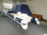 Liya 14FT Rigid Hydraulic Steering Boat PVC Fabric
