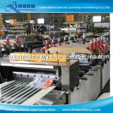 Heavy Duty Pouch Making Machine Three Side Seal Central Seal