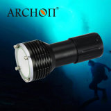 Diving Flashlight 1400lm Video&Photography Rechargeable Torch