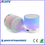 Mini Colorful LED Light Wireless Bluetooth Speaker with FM
