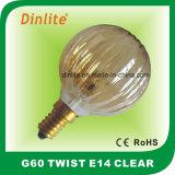 25W 40W 60W Twist Incandescent Bulb