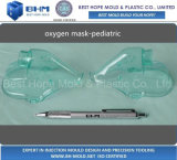Mirror Polishing PVC Oxygen Mask Injection Plastic Mould / Mold