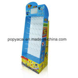 Pop Cardboard Floor Display with LCD Video Player for Promotion