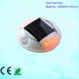 Popular Style Solar Road Stud / LED Flashing Road Marker for Roadway Safety