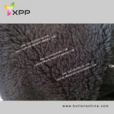 Dyed Polyester Polar Fleece Bonded with Polyester Sherpa for Blanket