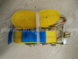 High Tensile Strap Ratchet Tie Down and Cargo Lashing Belt
