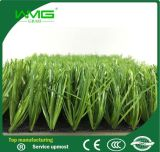 Spine Shape Yarn Artificial Grass for Soccer Field