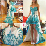 Lace Party Ball Gowns Hi-Low Cocktail Prom Dresses C20167