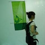 Custom Flying Advertising Printing Backpack Flag Banner