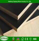 4FT*8FT Two Times Pressed Commercial Formwork Panel with Anti-Slip and Black/Brown Film for Construction