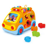 Plastic Educational Toys Kid Intellectual Bus (H0895098)