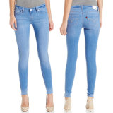 100% Cotton Ladies Brand Skinny Fashion Jeans