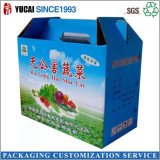 Carrying Fruit and Vegetable Gable Paper Box with High Quality