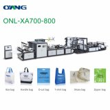 Nonwoven Shopping Bag Making Machine with Online Handle
