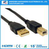 USB Cable Printer Lead Type a to B Male High Speed 2.0 Gold Plated Cables