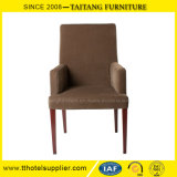 Comfortable Upholstered Dining Chair with Arms