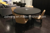 European Style Dining Room Furniture Round Wooden Table (E-33)