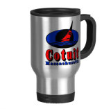 Customized Stainless Steel Travel Mug with Logo