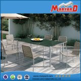 Morden Outdoor Furniture Stainless Steel Table and Chairs Set