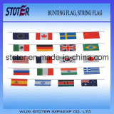 Wholesale High Quality Customized Country Bunting String Flag