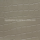 Crocodile Design Wigh Very Soft Hand Feeling Leather (QDL-53231)