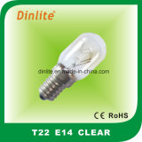 T22 Incandescent Bulb CE and RoHS
