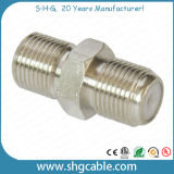 F Type Splice Adapter Connector for Coaxial Cable Rg59 RG6 (F-062)
