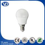 Plastic LED Light Bulb 3W with E14 Base