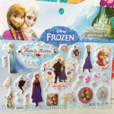 Wholesale Cartoon PVC Puffy Sticker, Frozen Sticker, Sponge Sticker
