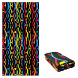 Colorful Beach Towel with Mesh Bag