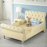 PU Leather Kids Bed/Living Room Children Furniture (BF-114)