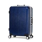2016 Newly All PC Hard Light Luggage Suitcase Travel Trolley Luggage Aluminum Frame Luggage