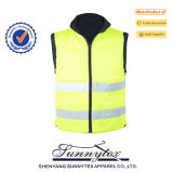 Running Reflective Safety Blue Mesh Safety Vest