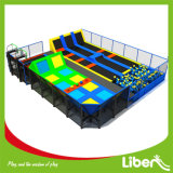 Customized Indoor Gymnastic Trampoline with Dodgeball in Trampoline Park
