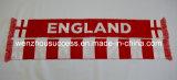 Knitted Jacquard Scarf; Football Scarf. Soccer Scarf - England Scarf
