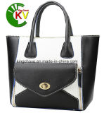 Latest Fashion Contrast PU Ladies Handbag (KCH159-1)