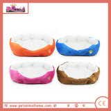 Colorful Plush Warm Pet Bed