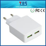 EU AC Plug Portable USB Mobile Phone Smart Charger EU