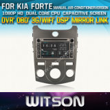 Witson Car DVD for KIA Forte 2008-2011 Car DVD GPS 1080P DSP Capactive Screen WiFi 3G Front DVR Camera