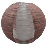 Coffee Brown Hallow Double Layers Decorative Paper Lanterns