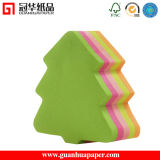 SGS Cute Different Shaped Sticky Notes Tree Shaped Paper Cube