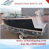 5.0m Bowrider Boat Aluminum Fishing Yacht with Boat Seats