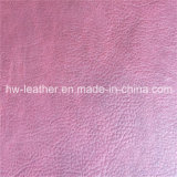 Fashion High Quality Embossed Leather for Sofa Hw-105