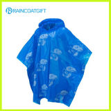 Promotional Resuable Rain Poncho with Logo Printing Rpe-142