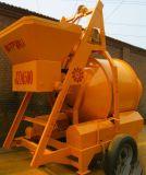 Rubber Wheels Friction Driven Electrical Concrete Mixer (JZM500)