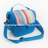 Polyester Colourful Stripe Insulated Cooler Bag (BC1341)
